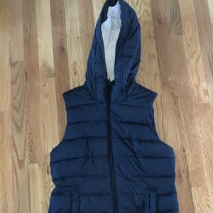 Hollister Down Hooded Puffer Vest